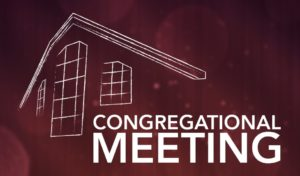 Congregational Meeting @ Sanctuary | Tustin | California | United States